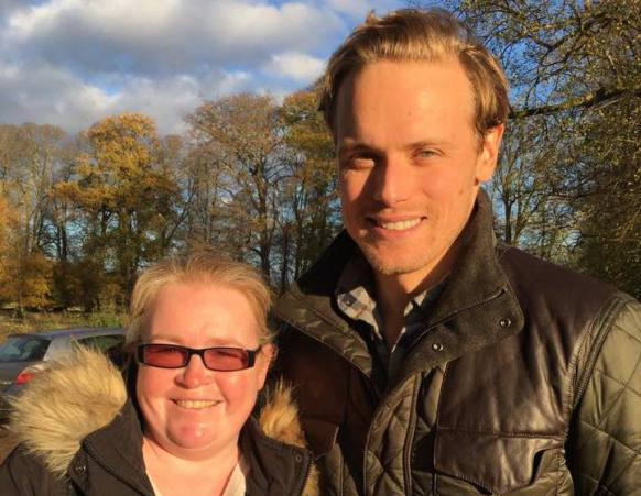 Sam Thomson and Sam Heughan